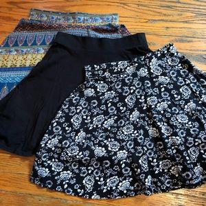 Set of Three Mini Skirts - Pac Sun